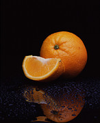 Decor Photography Prints - Orange Print by Jerry Taliaferro
