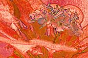 Orange Joy Print by First Star Art