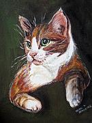 Irene Schilling - Orange Kitty