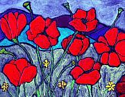 Wayne Potrafka - Orange  Red Poppies
