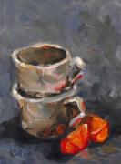Tea Originals - Orange Slices by Angela Sullivan