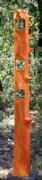 Garden Sculpture Originals - Orange Tower by Maria Rosa