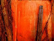 Image Gypsies Photos - Orange Wall by Michael Fitzpatrick by Olden Mexico