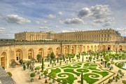 Palace Of Versailles Prints - Orangerie at Versailles Print by Rob Heath