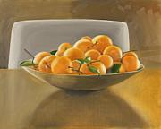 Oranges Print by Melissa Burke