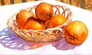 Oranges Print by Yolanda Koh