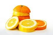 Background Art - Oranje Lemon by Carlos Caetano