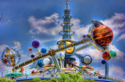 Magic Kingdom Photos - Orbiter by Joetta West