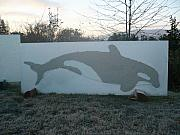Commission Sculptures - Orca - Image No. 2 by Rick Silas