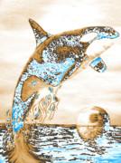 Orca Ps Print by Mayhem Mediums