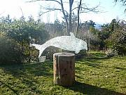 Whale Glass Art - Orca by Rick Silas