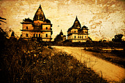 Illustrative Photo Prints - Orcha india Print by Karel Noppe