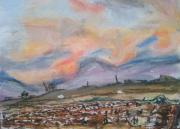 Evening Pastels - Orchard Skyline by Mary Cassidy