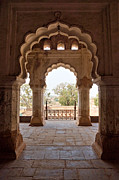 Orchha Framed Prints - Orchhas Palace India Framed Print by Luciano Mortula