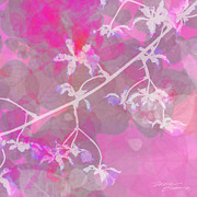 Digital Posters Mixed Media - Orchid I by Maria Eames