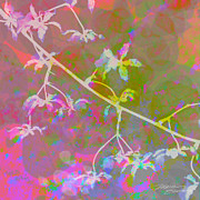 Digital Posters Mixed Media - Orchid II by Maria Eames