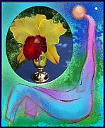 Orchids Art - Orchid Keeper by Alice Terrill