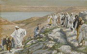 Tissot Painting Metal Prints - Ordaining of the Twelve Apostles Metal Print by Tissot
