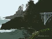 Glenna McRae - Oregon Coast Ben Jones Bridge