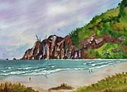 Oregon Coast Print by Melanie Pruitt