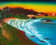 James Dunbar - Oregon Coastal Sunset 2