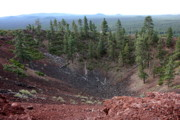 Deschutes Prints - Oregon Landscape - Crater at Lava Butte Print by Carol Groenen