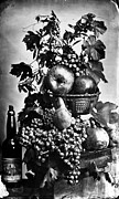 Jacksonville Prints - Oregon: Wine & Grapes Print by Granger