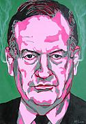 Politics Paintings - OReilly by Dennis McCann