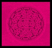Oreo Metal Prints - OREO in HOT PINK Metal Print by Rob Hans