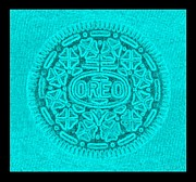 Oreo Framed Prints - OREO in TURQUOIS Framed Print by Rob Hans