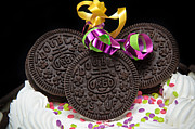 Gifts For Him Art Prints - Oreo Party Print by Andee Photography
