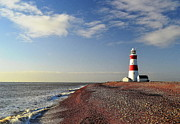 Cloud Prints - Orford Ness Lighthouse Print by Photo by Andrew Boxall