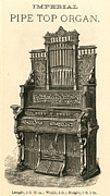 1880s Prints - ORGAN, c1880 Print by Granger