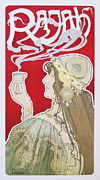 Belle Epoque Originals - Original 1899 Rajah Coffee Poster by Henri Privat Livemont