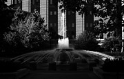Lafayette Prints - Original fountain Print by Coby Cooper