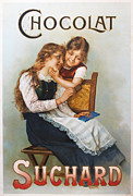 Belle Epoque Originals - Original French Poster c1910 Suchard Chocolat  by Anonymous