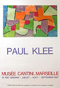 Mid Century Design Originals - Original Klee Exhibition Poster Musee Cantini 1967 by Paul Klee