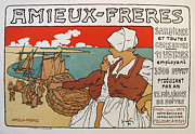 Turn Of The Century Originals - Original Maitres de LAffiche - Amieux-Freres PL.183 by Georges Fay