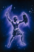 Swordsman Prints - Orion Constellation Print by Joe Tucciarone