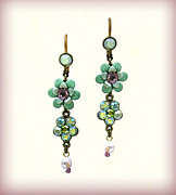 Gift Jewelry - Orly Zeelon The Burst Of Color Earrings by Orly Zeelon