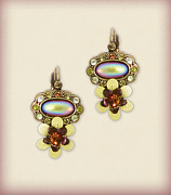 Earrings Photo Originals - Orly Zeelon The Vanishing Lake Earrings by Orly Zeelon