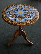 Andrea Ellwood - Ornamental Round Table