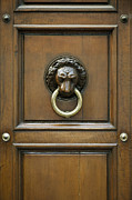 Door Sculpture Framed Prints - Ornate Door Knocker Framed Print by Rob Tilley