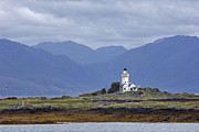 Islet Prints - Ornsay Lighthouse - D002163 Print by Daniel Dempster