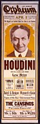 Illusionists Posters - Orpheum Circuit Vaudeville Poster Poster by Everett
