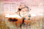 Landscape Art Acrylic Prints - Orrery Acrylic Print by Bob Orsillo