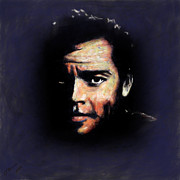 Hollywood Legend Prints - Orson Wells Print by Arne Hansen