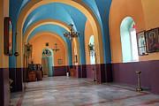 Peach Photo Originals - Orthodox Church in Hebron by Munir Alawi