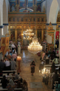 Orthodox Photo Originals - Orthodox Mass by Munir Alawi