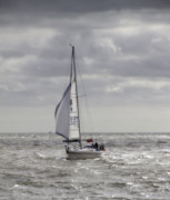 Wishful Thinking Prints - Orton Yacht Print by Nigel Jones